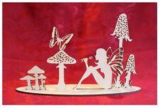 MDF Wooden Wooden Fairy glade freestanding laser cut scene craft decoration C...