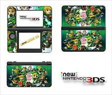 SKIN STICKER AUTOCOLLANT - NINTENDO NEW 3DS - REF 171 ZELDA