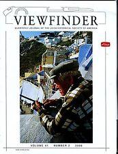 Leica Viewfinder Magazine Volume 41 Number 2 2008 Jim Vestal EX 032817lej