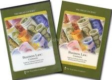 Great Courses BUSINESS LAW:  CONTRACTS Teaching Company Complete 8-CD Set Guide