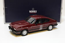 1:18 Norev Ford Capri MkIII 2.8 injection 1982 Red New chez Premium-modelcars