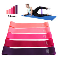 Resistance Bands Workout Loop Set Strength Fitness Gym Exercise Band Yoga Booty