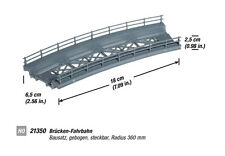 Noch 21350 HO ponts-chaussée courbé 18Cm # Neuf Emballage d'ORIGINE #