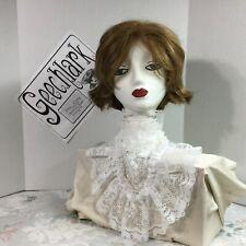 White lace Collar Jabot pirate Gothic Lolita Victorian Steampunk dress 4716