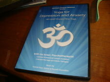 Yoga for Depression and Anxiety DVD All Level Vinyasa Ira Israel Apryl Ryder