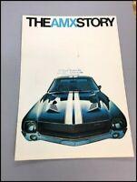 1968 American Motors AMC AMX Story Vintage Car Sales Brochure Catalog