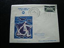 FRANCE - enveloppe 1er jour 21/3/1959 journee du timbre saint quentin (cy10) (A)