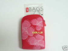 Golla Digi Camera Case G765 Red New with Tags Universal 65 x 105 x 20 mm