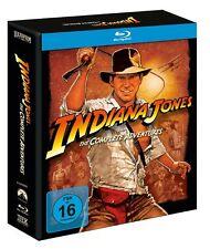 5 Blu-rays * INDIANA JONES -THE COMPLETE ADVENTURES- DIGI-Harrison Ford #NEU OVP