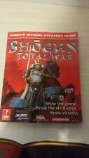 Shogun Total War Prima Official Strategy Guide Book