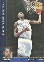 1995-96 SP Championship Series Kevin Garnett Rookie #62 Minnesota Timberwolves