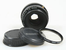 50MM F.2 PENTAX LENS W/FRONT,REAR CAPS