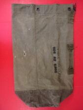 post-Vietnam US Army/USMC Canvas Duffel Bag or Sea Bag w/Shoulder Straps NICE #6