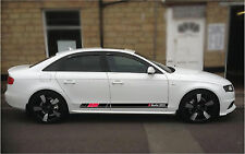 Audi A4  Side Stripes stickers