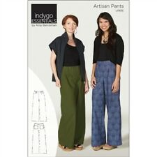 ARTISAN PANTS SEWING PATTERN, From Indygo Junction NEW By Amy Barickman IJ1161E