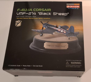 Dragon Wings Cyber-Hobby 50107 1:72 F4U Corsair USMC Black Sheep Boyington 1943