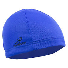 BLUE HEADSWEATS COOLMAX SKULL CAP CYCLING HELMET LINER NEW