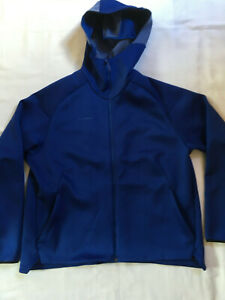 Mammut Logo ML Hooded Jacket Women Jacke blau, Gr. L, super Zustand
