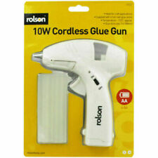 More details for cordless glue gun 10w with 6 glue sticks batteries included diy crafting