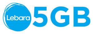 5 GB Internet Paket (28 Tage gratis) D1 Telekom Netz Lebara mobile KEIN VERTRAG