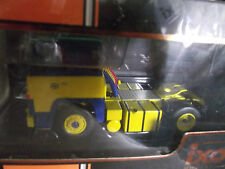 SCANIA LBT 141  ASG 1976 BLEU/JAUNE  ixo 1/43