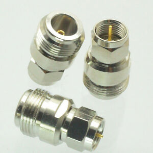 5x N-F Type N Female Jack to F Male Plug Straight Adapter