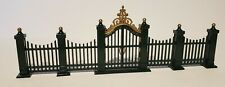 Dept 56, Heritage Village Collection,Village Wrought Iron Gate & Fence, 9 pieces