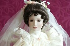 "ASHTON DRAKE BRIDE DOLL ELIZABETH 1900's Dress ""From This Day Forward""Collection"