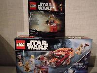 Lego Star Wars 75173 Luke's Landspeeder (plus Rebel 5004408 Polybag) - NEU & OVP
