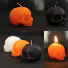 Skull Candle Bleeding Crying Wax Halloween  Smokeless Skeleton Terror Red Brain