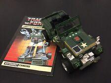 VINTAGE # G1 Transformers Masterpiece MP-47 Hound ( Canguro ) Takara Hasbro [AR1