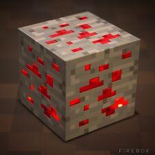 MINECRAFT DIAMOND ORE LIGHT UP NIGHT LIGHT RED LIGHT-UP  TOY red