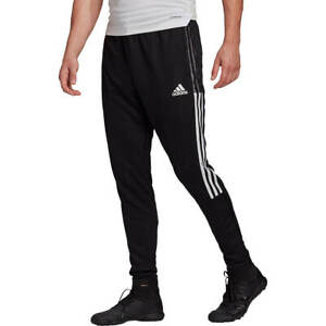 Adidas Men's Tiro 21 Athletic Training Pants Sweatpants Climacool Zipper Pockets