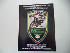 advertising Pubblicità 1980 MOTORI MINARELLI VINCE