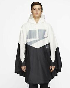 Nike NSW Windrunner Poncho Foul Weather Sail/Black One Size $180