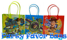 24 pcs Disney Toy Story Party Favor Bags Candy Treat Birthday Loot Gift Sack Bag