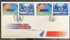 GB FDC 1994 Channel Tunnel **Special UK /France Cover** L@@K Great Condition