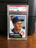 2018 Topps Living Set Manny Machado Baseball Card #88 PSA 10 Gem Mint