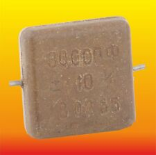 3000 pF 500 V 10% LOT OF 4 RUSSIAN MILITARY SILVER-MICA CAPACITORS KSO-5W КСО-5В
