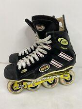 Mission Flow Mod4 Inline Hockey Roller Skates Size 11.5 D (Men US 11.5 Shoe Size