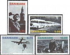 Danemark 1100-1103 (édition complète) neuf 1995 Paix et Liberté