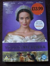 The Young Victoria DVD.Exclusive DVD Cover.BRAND NEW AND SEALED.RRP £13.99