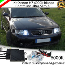 KIT XENON SLIM XENO AC 6000K 35W PER AUDI A3 8L ULTRALUMINOSI CON GARANZIA