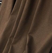 Organic Cotton Jersey Knit Fabric Ecofriendly Eko Certified 7 oz Bark Brown