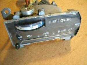 71-73 CADILLAC DEVILLE ELDORADO AUTOMATIC CLIMATE HEATER CONTROL AIR CONDITION