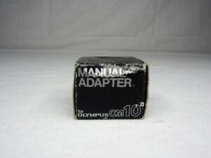 Olympus OM-10 OM10 Camera Manual Shutter Speed FC Adapter--NOS