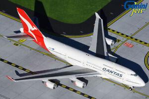 GEMINI JETS QANTAS AIRWAYS BOEING 747-400ER 1:400 DIE-CAST GJQFA1928 IN STOCK