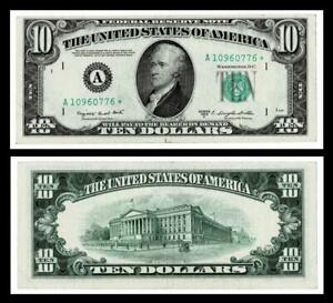 1950-C ***STAR***$10 Federal Reserve Bank  Note~~ EXTRA FINE