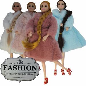 Puppe Kleidung Weich Outfit Zubehör Mädchen Geschenk Mantel Top mit Gelenken ⭐✅