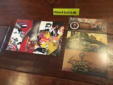 2 Group Art Show Card Prints Anthony Lister Ben Frost Dabs Mayla Rone Reka Meggs
